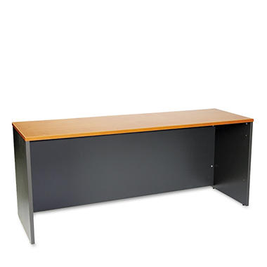 Bush Series C Series Credenza - Natural Cherry/Graphite Gray