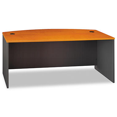 Bush - Series C Bowfront Desk - Natural Cherry or Hansen Cherry