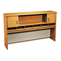 "Bush - 72""W Overhead (2 Door) Series C - Natural Cherry"