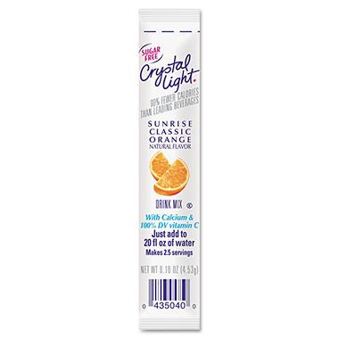 Crystal Light On the Go, Sunrise Orange (16 oz. packets, 30 pk.)