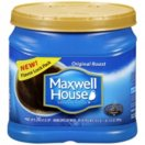 Maxwell House® Regular Ground Coffee - 34.5 oz canister