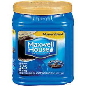 Maxwell House Ground Coffee, Master Blend (44.5 oz.)
