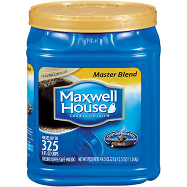 Maxwell House Master Blend Ground Coffee  - 44.5 oz.