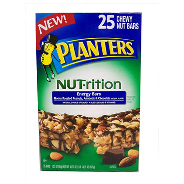 Planters NUTrition Bar - 25 ct.