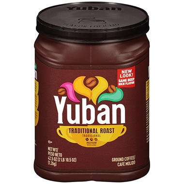 Yuban Ground Coffee Medium Roast 42 5 Oz Sam S Club