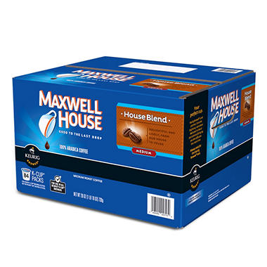 Maxwell House Blend Single Serve Coffee - 84 ct.