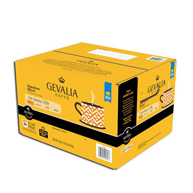Gevalia Single Serve Coffee Cup Signature Blend (84 ct.)