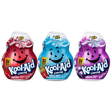 Kool Aid Liquid Concentrate Variety Pack - 1.62 oz. - 3 pk.