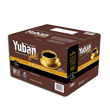 Yuban Gold 100% Arabica Coffee, Single Serve (84 ct.)