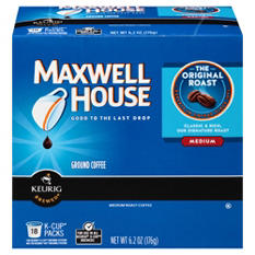 Maxwell House Original Roast, Medium K-Cups (108 ct.)