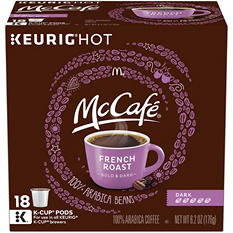 McCafe French Roast, Dark, K-Cups (108 ct.)