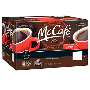 Mccafe Premium Roast Coffee 84 K Cups Sam S Club