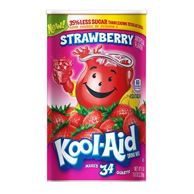 Kool-Aid Strawberry Drink Mix (makes 34 qts.)
