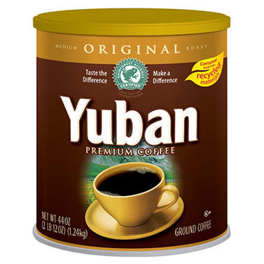 Yuban Colombian Coffee - 44 oz. can