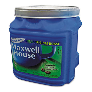 Maxwell House Decaffeinated Ground Coffee - 33 oz. can