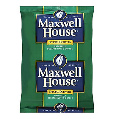 Maxwell House Decaffeinated Special Delivery Coffee Filter Packs - 1.3 oz. - 42 ct.