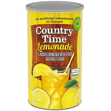 Country Time® Lemonade Mix - 34 Quart Drink Mix