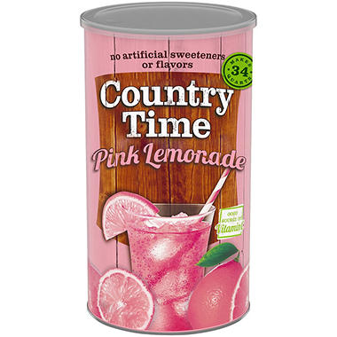 Country Time Pink Lemonade Mix - 82.5 oz. can