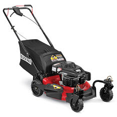 "Black Max 21"" 159cc Self-Propelled Mower - Powered by POWERMORE"