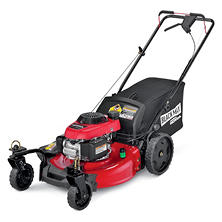 "Black Max 21"" 160cc Rear Wheel Drive Mower Powered by Honda"