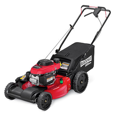 Black Max 21 Quot 160cc Front Wheel Drive Mower Powered By