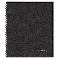 One Subject Wirebound Business Notebook - 80 Shs