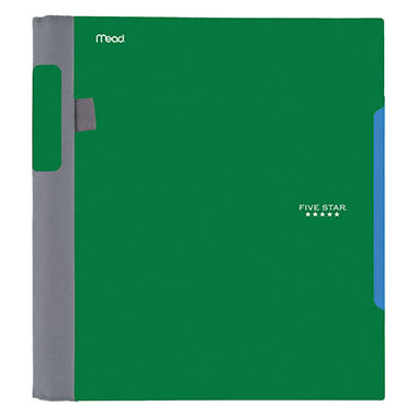 Five Star Advance Wirebound Notebook -  College Rule -  Letter - 1 Subject 100 Sheets/Pad