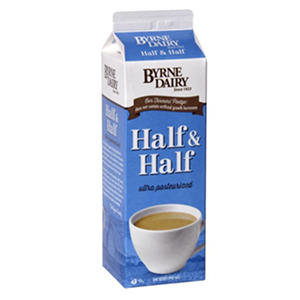 Byrne Dairy Half and Half (1 qt.)