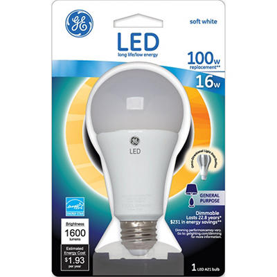 GE LED 16 Watt General Use Bulb
