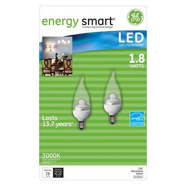 LED Decorative Bulbs - 2 pk.