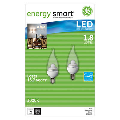 LED Decorative Bulbs - 2 pk.