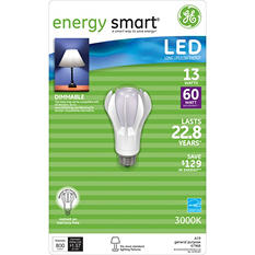 13 Watt LED General Use Bulb -  Replaces 60 Watt Light Bulb - 1 pk.