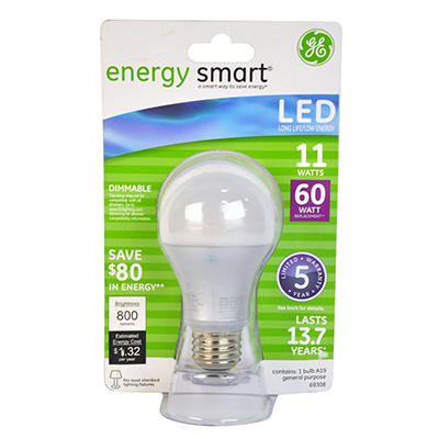 GE Energy Smart® LED 11-Watt General Use Bulb
