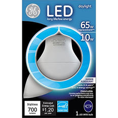 GE LED Daylight 10 Watt BR30 Replacement (3 pack)