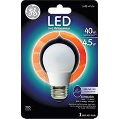 3-Pack GE LED 4.5 Watt Frosted Ceiling Fan Bulb