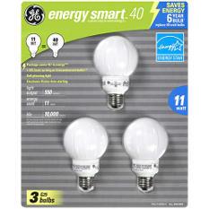 GE Energy Smart™ 40 CFL Bulbs - 3 pk.