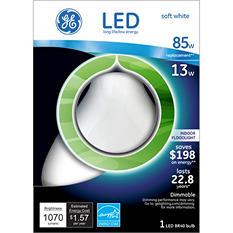 GE LED 13 Watt R40 Indoor Floodlight Soft White