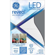 GE LED Reveal® 12 Watt BR30 Replacement (3 pack)