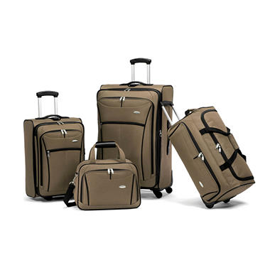 Samsonite Luggage 4 Piece Set - Black