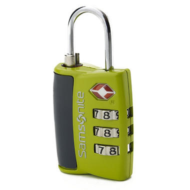 Samsonite Travel Sentry 3 Dial Combination Lock
