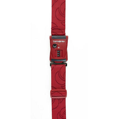 Samsonite Travel Sentry 3 Dial Combination Luggage Strap