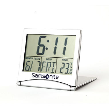 Samsonite Digital Travel Alarm Clock