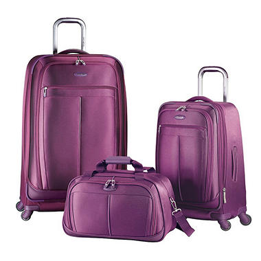 Samsonite 3 pc. Spinner Luggage Set  - Solar Rose