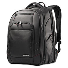 Samsonite - Xenon 2 Laptop Backpack, 12.25 x 8.25 x 17.25, Nylon -  Black
