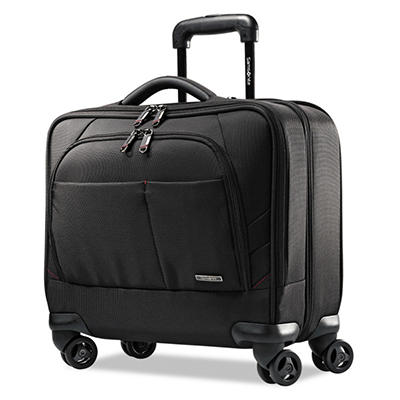 Samsonite - Xenon 2 Spinner Mobile Office, 13.5 x 8 x 16.5, Nylon -  Black