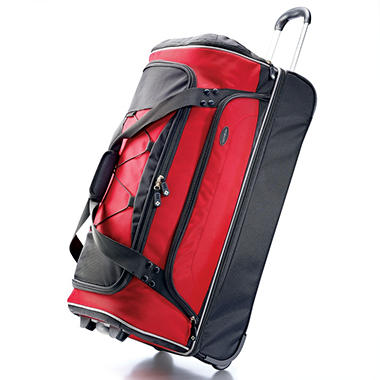 "Samsonite 30"" Drop Bottom Wheeled Duffel Bag"