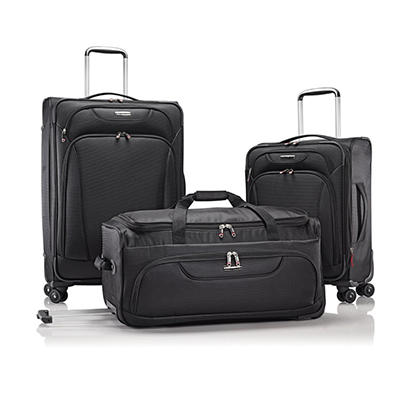 Black or Blue Samsonite Versatility 3.0 (3 pc. Set)