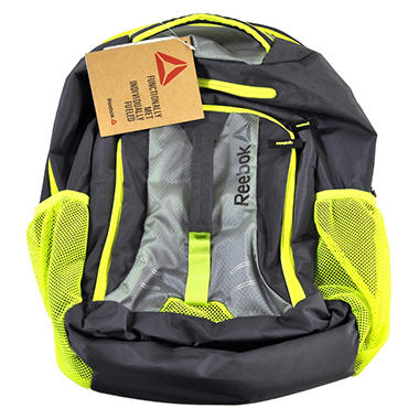 REEBOK BACKPACK YELLOW/GREY