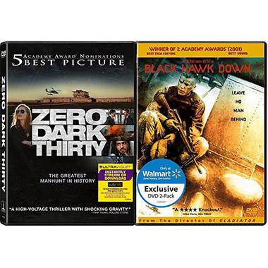 Zero Dark Thirty / Black Hawk Down (DVD) (2-Pack) (Exclusive)