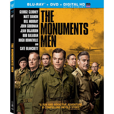 The Monuments Men - Blu-Ray + DVD + UltraViolet (Widescreen)